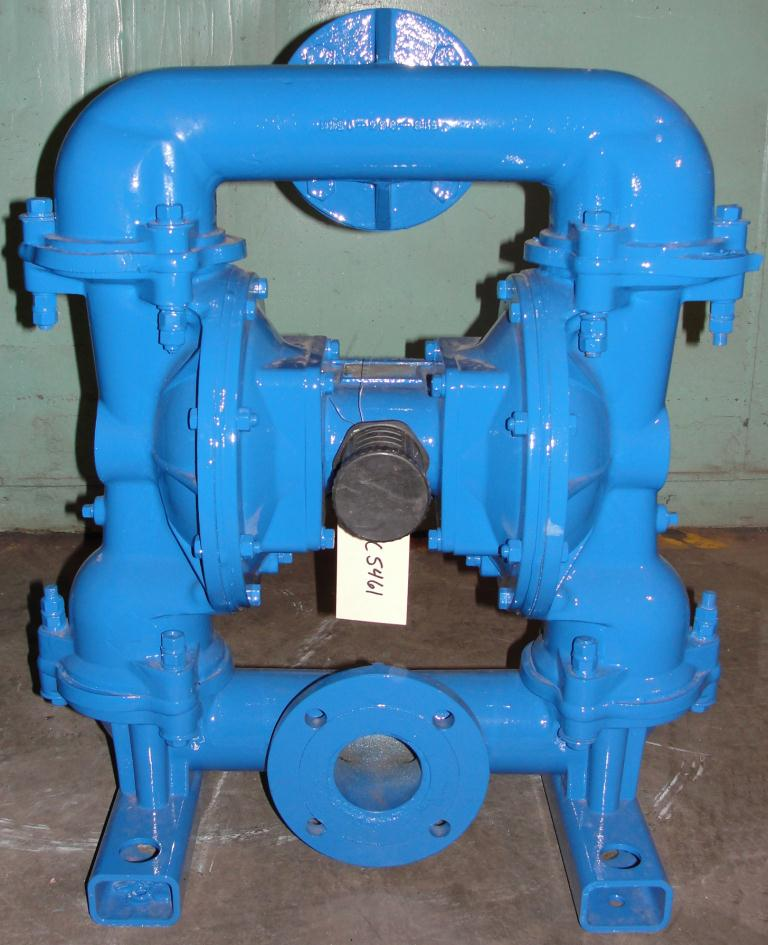 Pump 3 Warren-Rupp/ Sandpiper diaphragm pump, Aluminum3