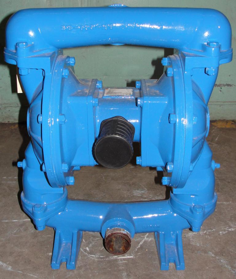 Pump 2 Warren-Rupp/ Sandpiper diaphragm pump, Aluminum3