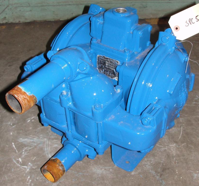 Pump 1.5 Warren-Rupp/ Sandpiper diaphragm pump, Aluminum1