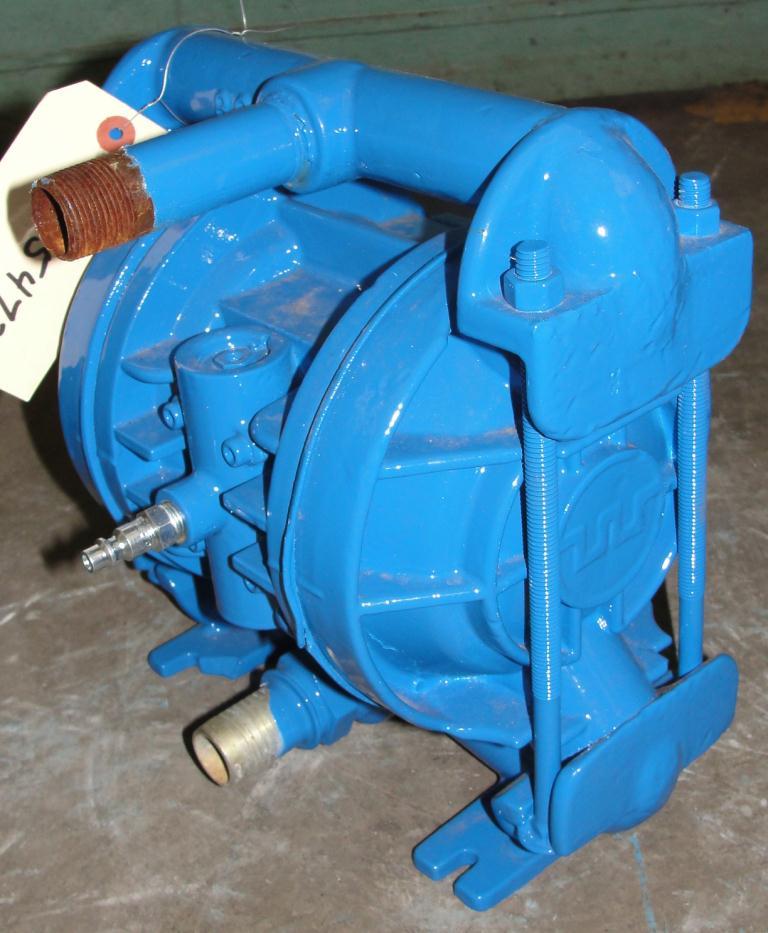 Pump 3/4 Wilden diaphragm pump, Aluminum1
