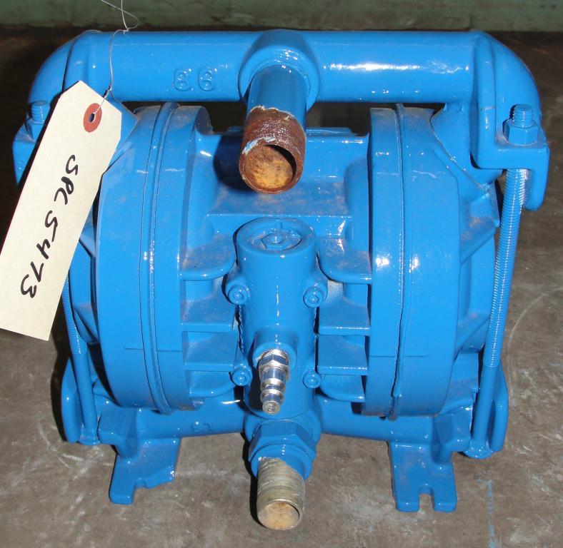 Pump 3/4 Wilden diaphragm pump, Aluminum2