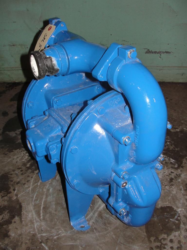 Pump 2 Warren-Rupp/ Sandpiper diaphragm pump, Aluminum1