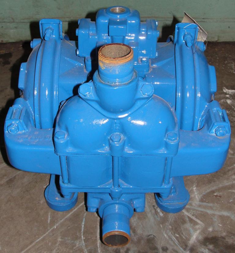 Pump 1.5 Warren-Rupp/ Sandpiper diaphragm pump, Aluminum2