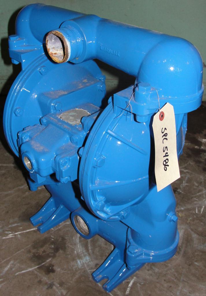 Pump 2 Warren-Rupp/ Sandpiper diaphragm pump, Aluminum1