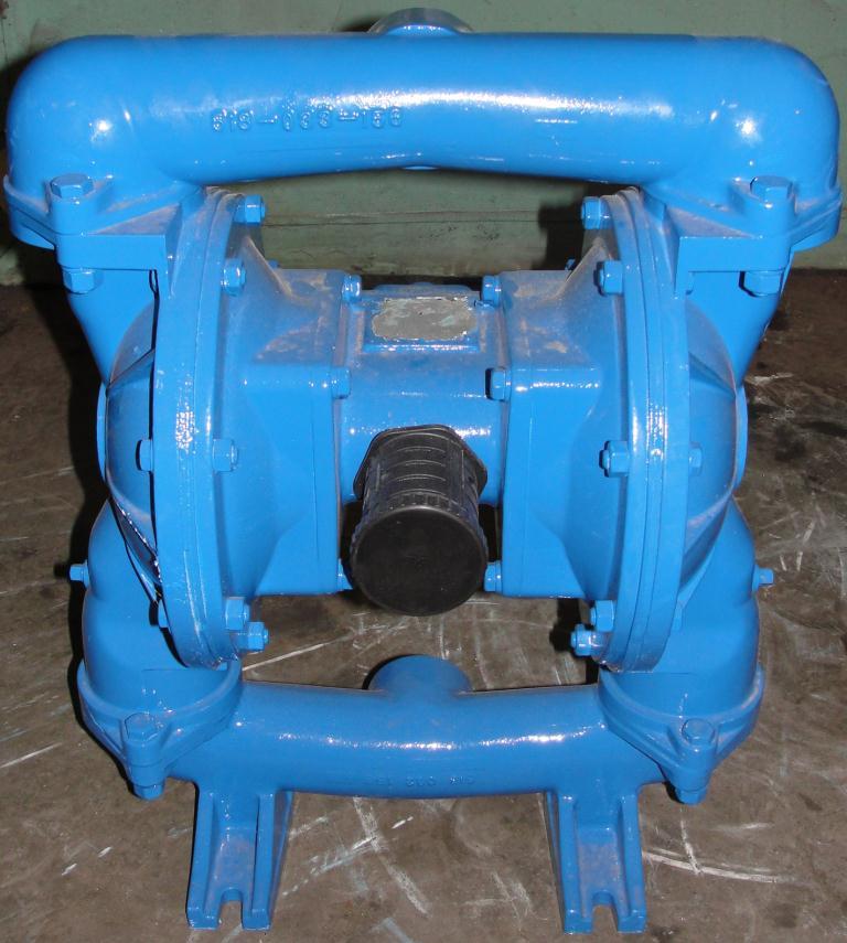 Pump 2 Warren-Rupp/ Sandpiper diaphragm pump, Aluminum3