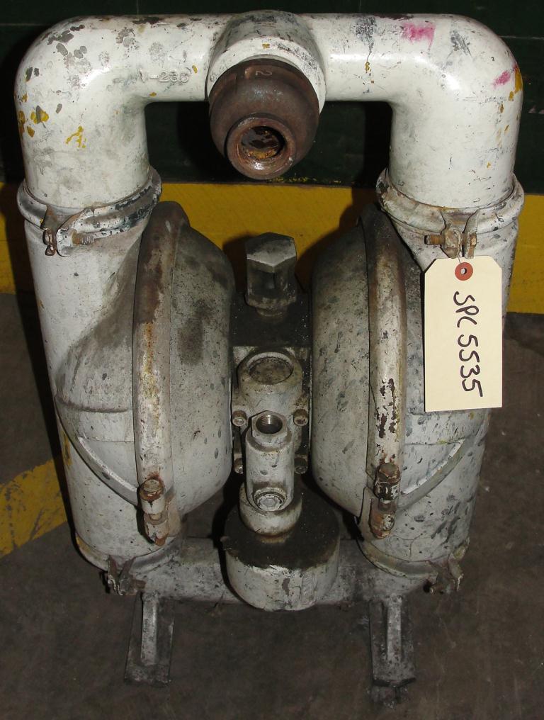 Pump 2 Versa-Matic diaphragm pump, Aluminum2