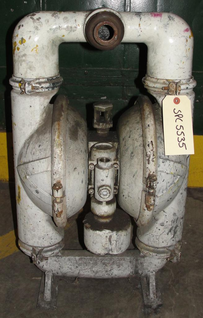 Pump 2 Versa-Matic diaphragm pump, Aluminum3