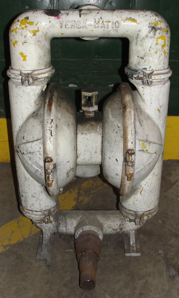Pump 2 Versa-Matic diaphragm pump, Aluminum4