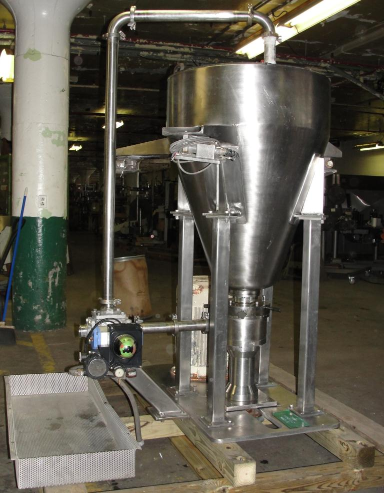 Mill 25 hp Meprotec colloid mill Stainless Steel2