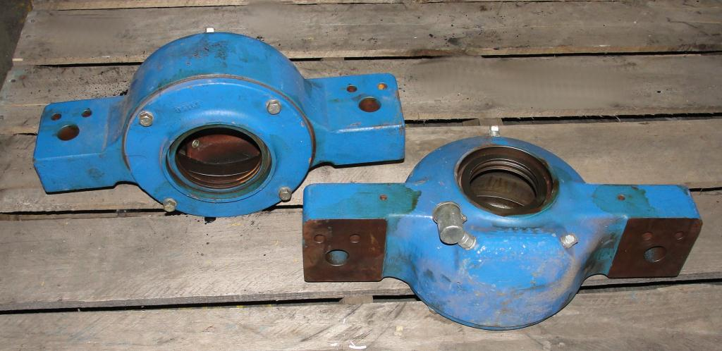 Pulverizer spare part, Hosokawa model 8MA rotor and bearings, Stainless Steel6