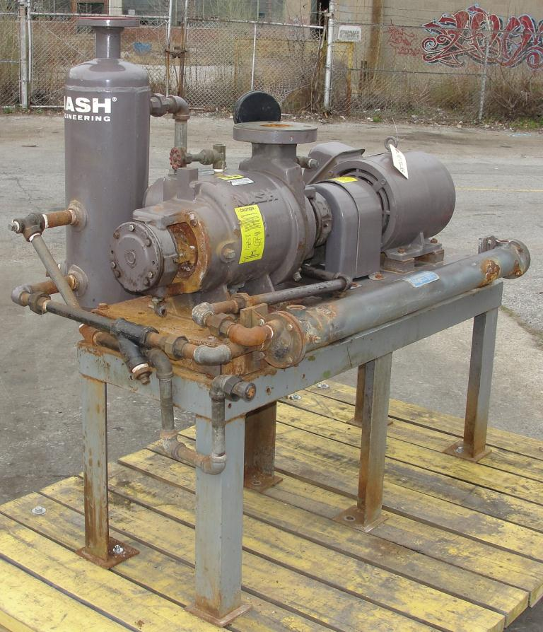 Pump 76 cfm Nash vacuum pump model SC-2 10 hp, CS2