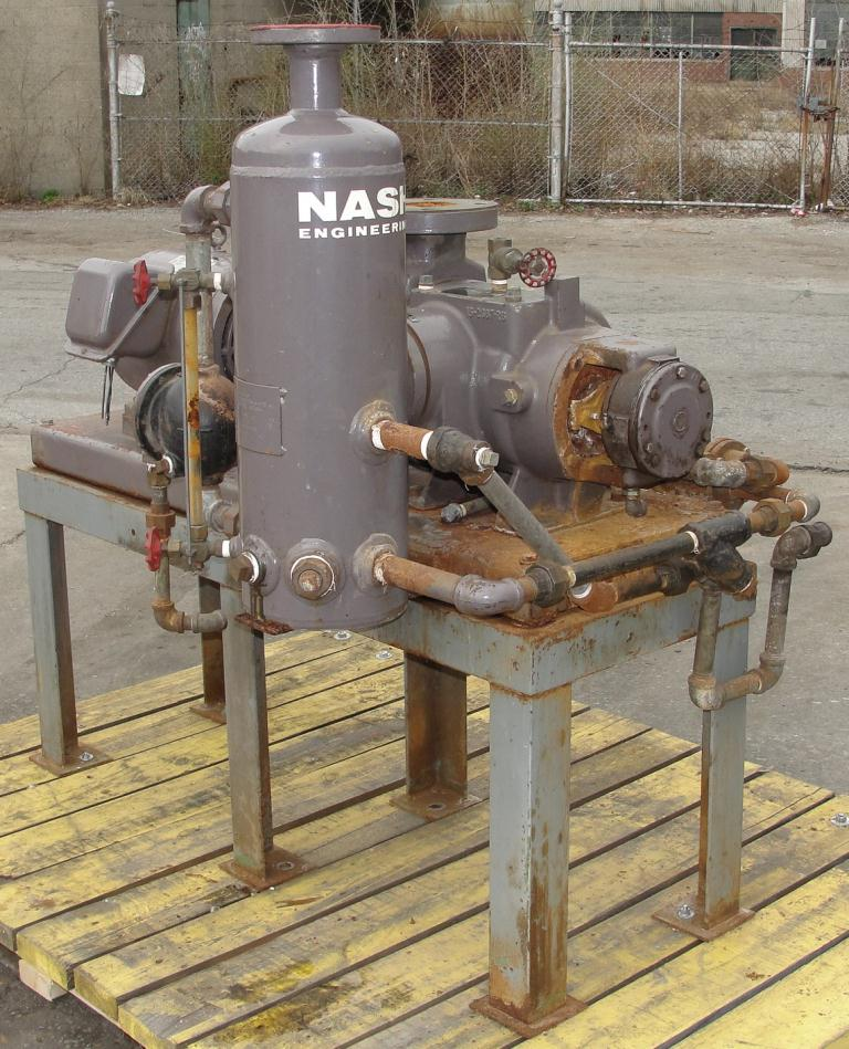 Pump 76 cfm Nash vacuum pump model SC-2 10 hp, CS3