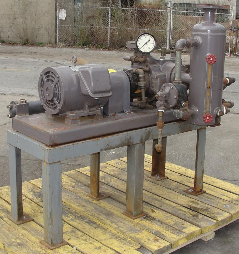 Pump 76 cfm Nash vacuum pump model SC-2 10 hp, CS5