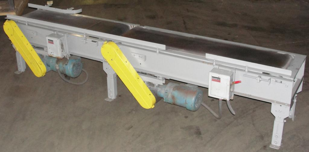 Conveyor belt conveyor CS, 12 wide and 55 long and 12 wide and 45 long