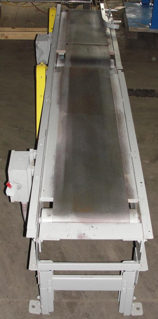 Conveyor belt conveyor CS, 12 wide and 55 long and 12 wide and 45 long3