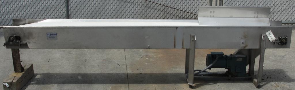 Conveyor Nercon belt conveyor Stainless Steel, 10 wide x 10 long2