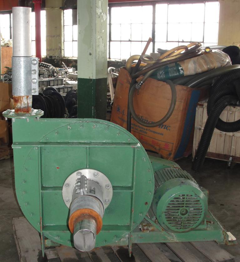 Blower centrifugal fan Buffalo Blower size 30-1 model CB, 15 hp, CS2