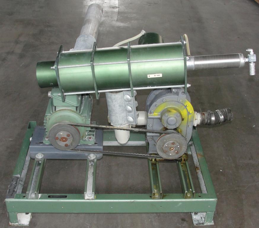 Blower 59 cfm, positive displacement blower Fuller Co, 3 hp2