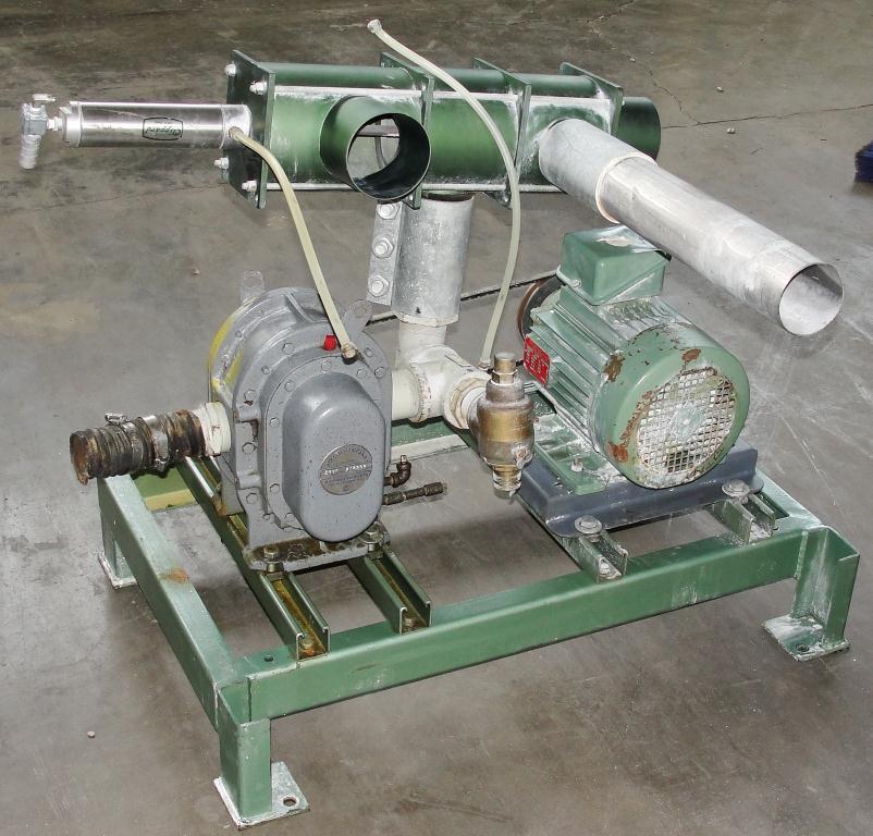 Blower 59 cfm, positive displacement blower Fuller Co, 3 hp3