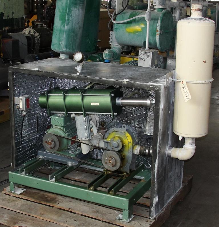 Blower 59 cfm, positive displacement blower Fuller Co, 3 hp4