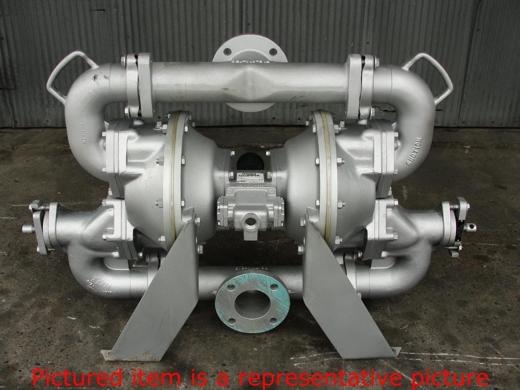 Pump 3 Warren Rupp/SandPiper diaphragm pump, Aluminum1