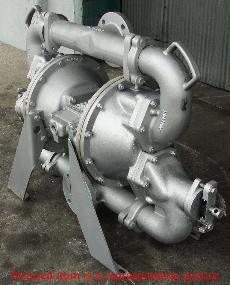 Pump 3 Warren Rupp/SandPiper diaphragm pump, Aluminum2