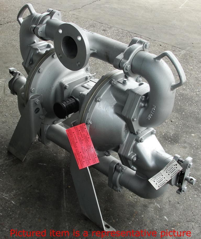 Pump 3 Warren Rupp/SandPiper diaphragm pump, Aluminum5