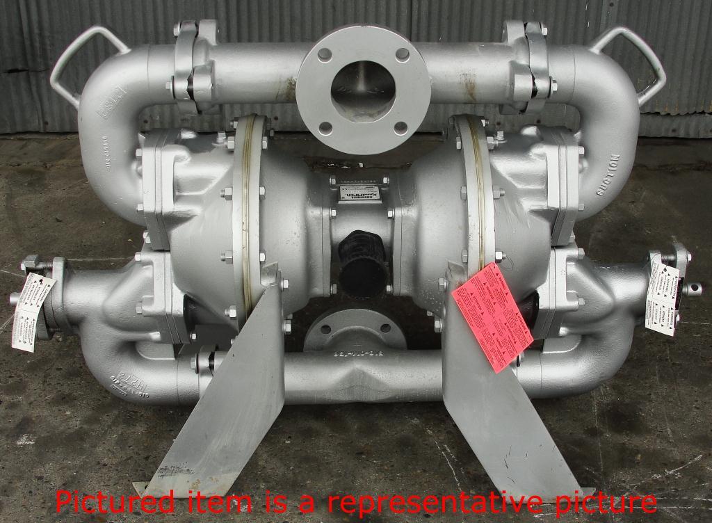 Pump 3 Warren Rupp/SandPiper diaphragm pump, Aluminum4