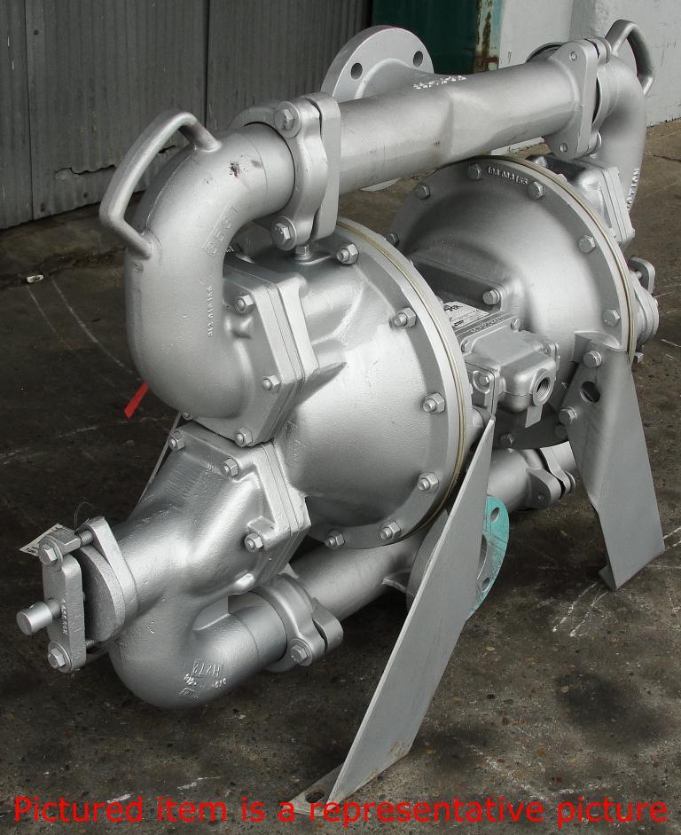 Pump 3 Warren Rupp/SandPiper diaphragm pump, Aluminum6