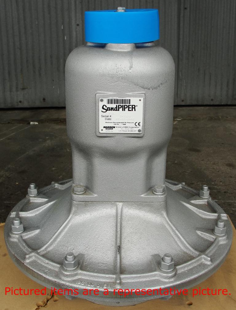 Pump 3 Warren Rupp/SandPiper diaphragm pump, Aluminum5