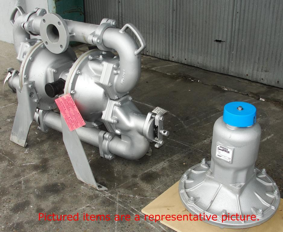 Pump 3 Warren Rupp/SandPiper diaphragm pump, Aluminum2