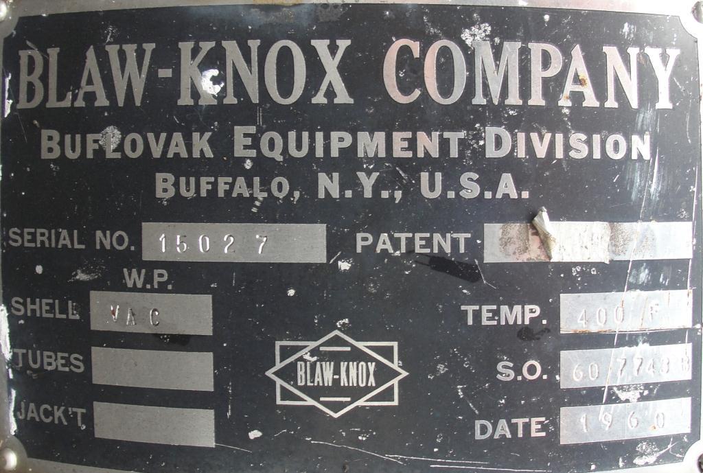Evaporator rising falling film evaporator, Stainless Steel3