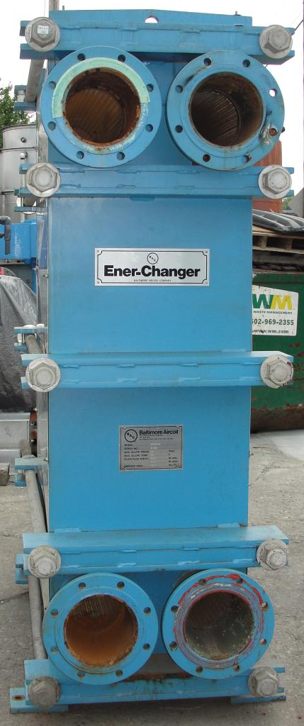 Heat Exchanger 1922 sq.ft. Tranter plate heat exchanger, Stainless Steel4