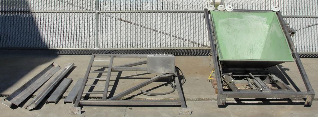 Bin 10 cu.ft., bulk storage bin, Stainless Steel2