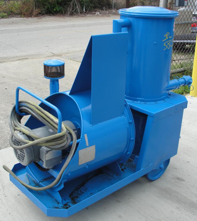 Miscellaneous Equipment 2 hp 70 cfm Spencer industrial vacuum cleaner model P-1343