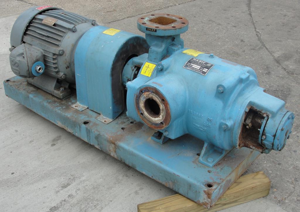 Pump 450 cfm Nash vacuum pump model SC-5 25 hp, CS1