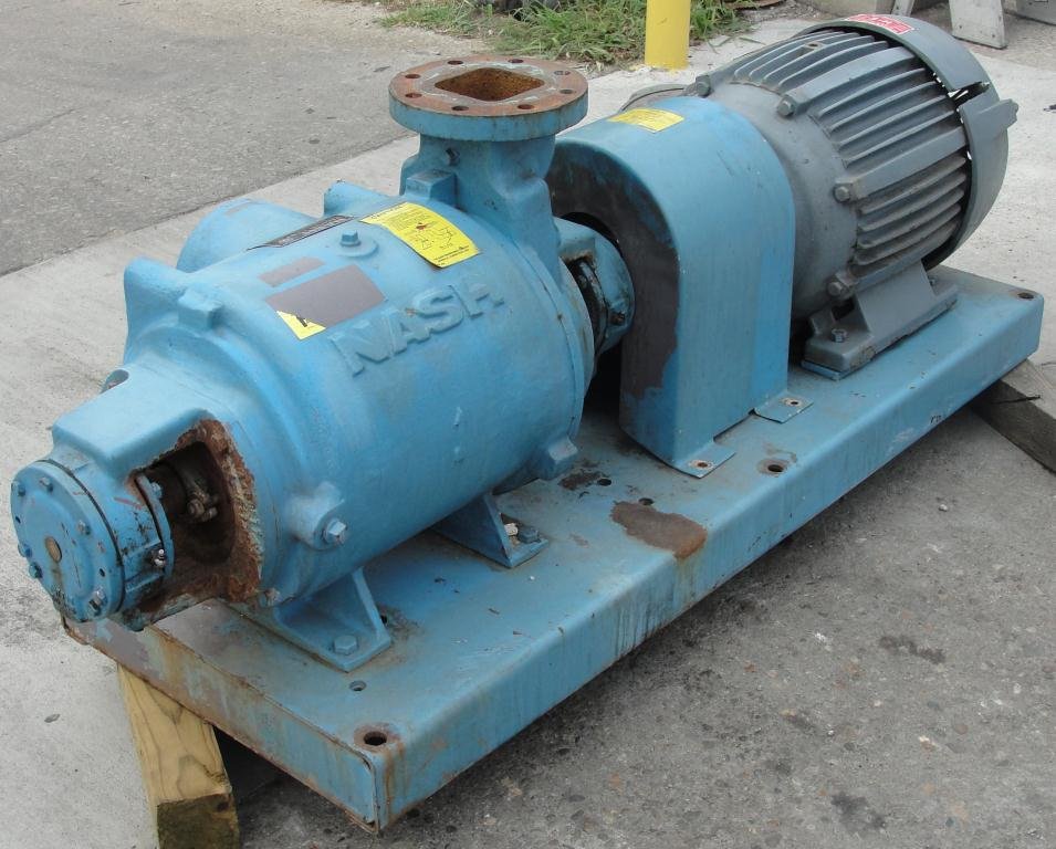 Pump 450 cfm Nash vacuum pump model SC-5 25 hp, CS2