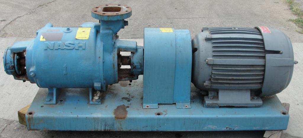Pump 450 cfm Nash vacuum pump model SC-5 25 hp, CS3