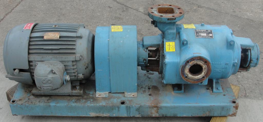 Pump 450 cfm Nash vacuum pump model SC-5 25 hp, CS4
