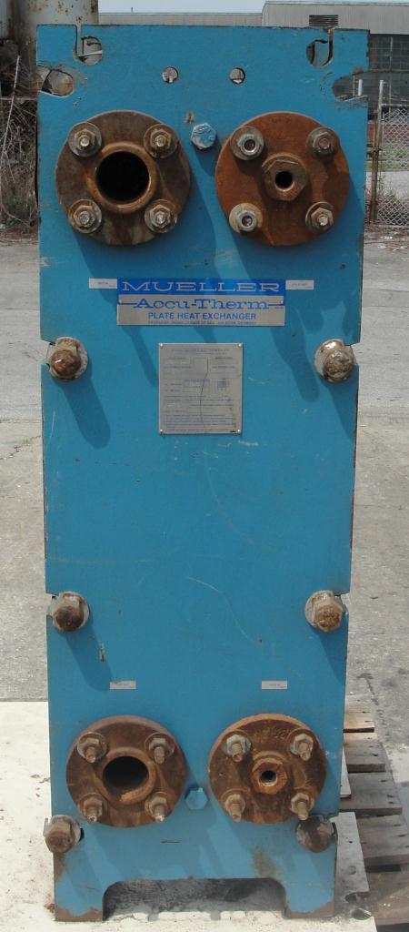 Heat Exchanger 111 sq.ft. Mueller Accu-Therm plate heat exchanger, Stainless Steel2