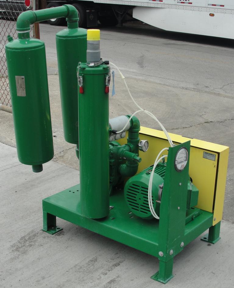 Blower 67 cfm, positive displacement blower Vac-U-Max, 3 hp2