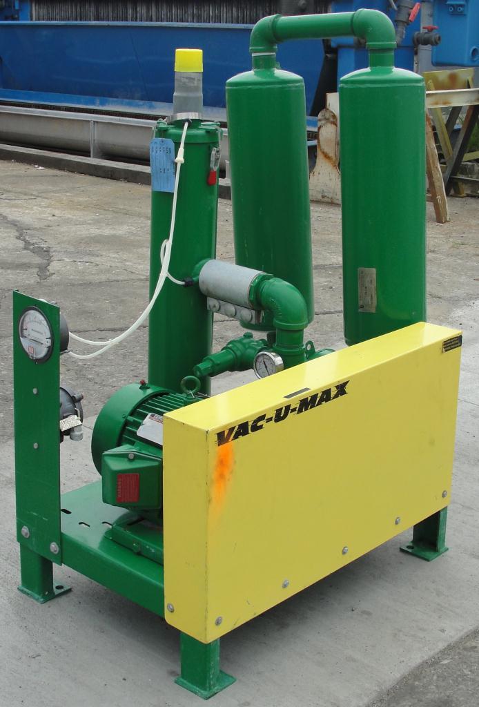 Blower 67 cfm, positive displacement blower Vac-U-Max, 3 hp3
