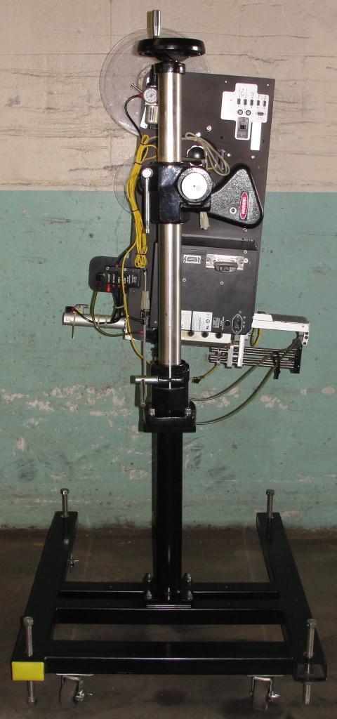 Labeler Loveshaw pressure sensitive labeler model Little David LS-800-T-G, blow-on, 16 per second5