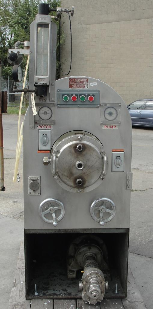 Mixer and Blender E. T. Oakes Corp continuous mixer model 10M5, 5 hp, Stainless Steel4