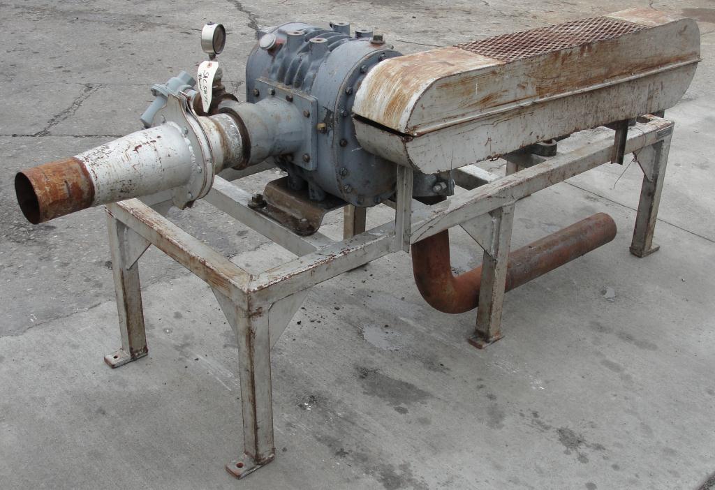 Blower 200 cfm, positive displacement blower Schwitzer3