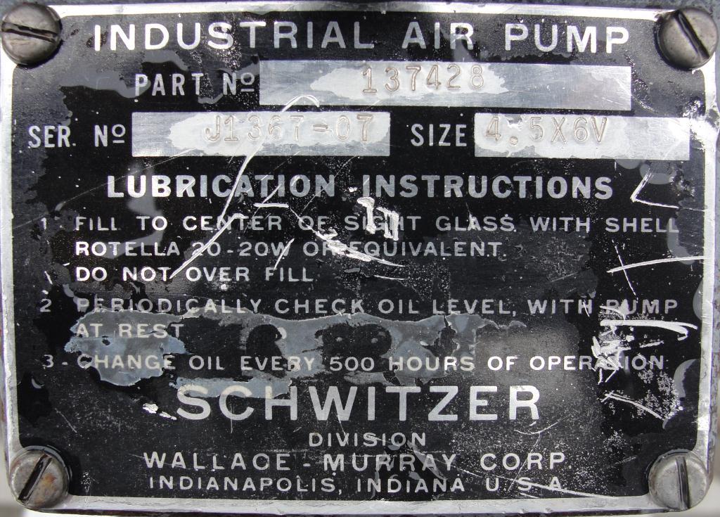 Blower 200 cfm, positive displacement blower Schwitzer4