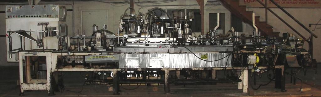 Form Fill and Seal KHS Klockner Bartelt horizontal form fill seal model IM7-14, up to 100 ppm2