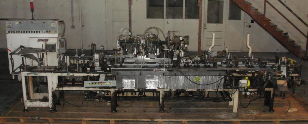 Form Fill and Seal KHS Klockner Bartelt horizontal form fill seal model IM7-14, up to 100 ppm8