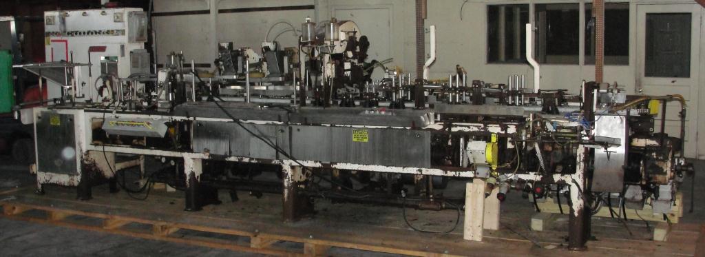 Form Fill and Seal KHS Klockner Bartelt horizontal form fill seal model IM7-14, up to 100 ppm3