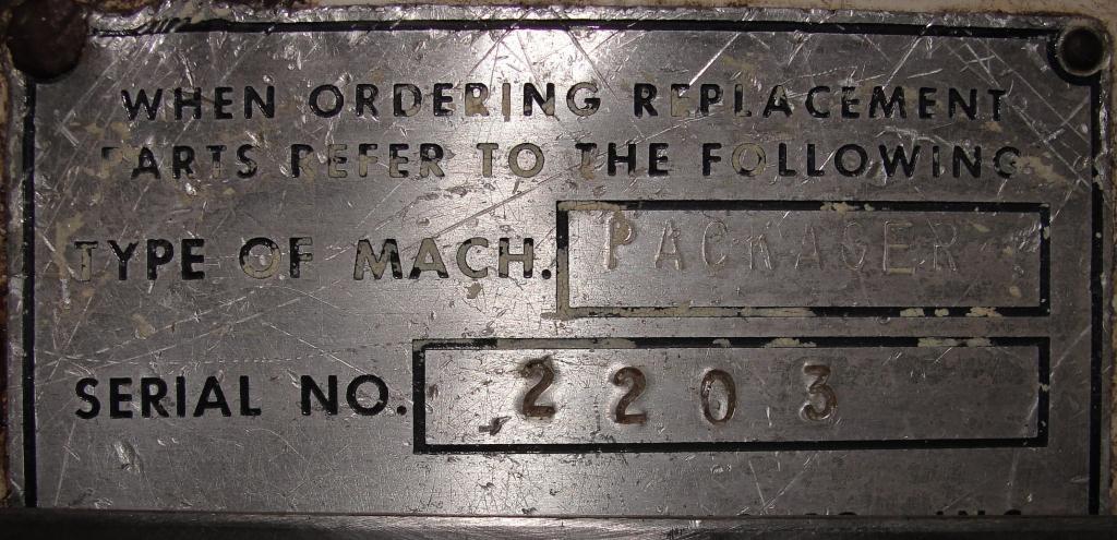 Form Fill and Seal KHS Klockner Bartelt horizontal form fill seal model IM7-14, up to 100 ppm7